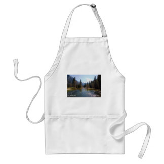 Merced River April, Yosemite California Products Adult Apron