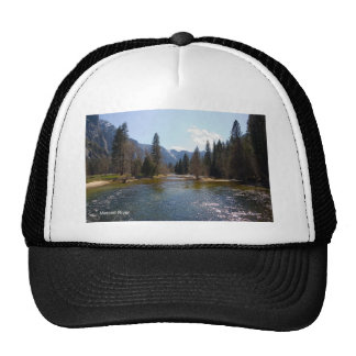 Merced River April Yosemite California Products Trucker Hats