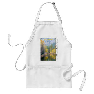Merced River November Yosemite California Products Adult Apron
