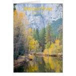 Merced River November Yosemite California Products Card