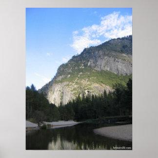 Merced River - Yosemite, California Poster