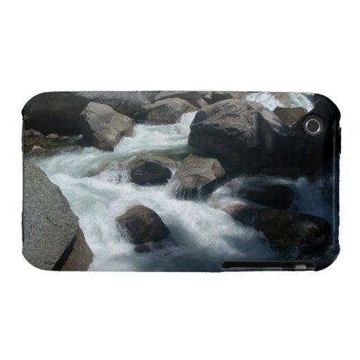 Merced River Yosemite Rocks iPhone 3 Case