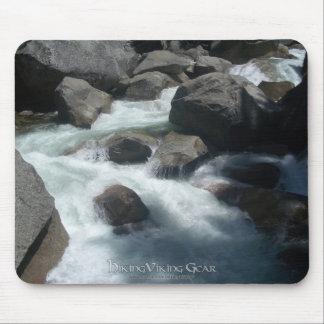Merced River Yosemite Rocks Mouse Pad