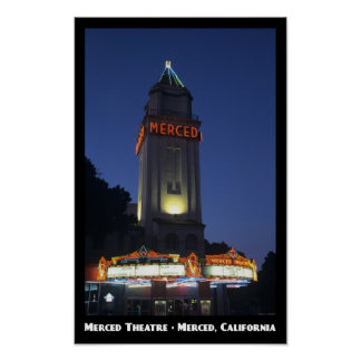 Merced Theatre 11x17 Poster