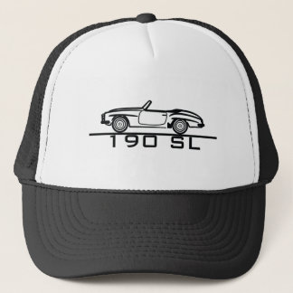 Mercedes 190 SL Type 121 Trucker Hat
