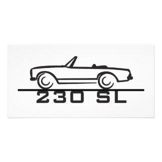 Mercedes 230 SL Type 113 Card