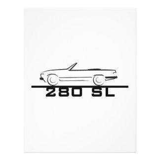 Mercedes 280 SL Type 107 Flyer