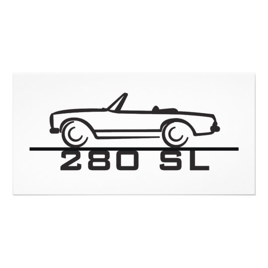 Mercedes 280 SL Type 113 Card