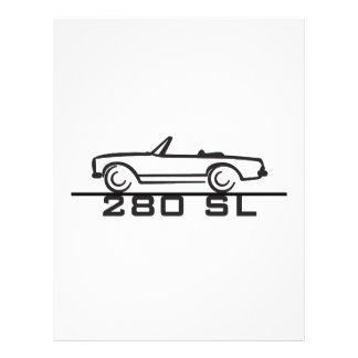 Mercedes 280 SL Type 113 Flyer