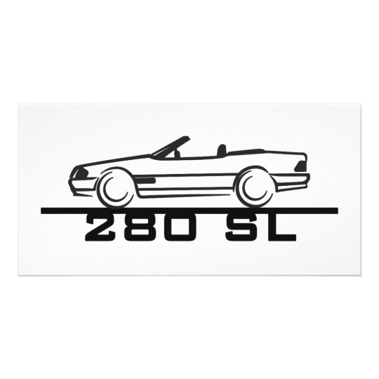 Mercedes 280 SL Type 129 Card