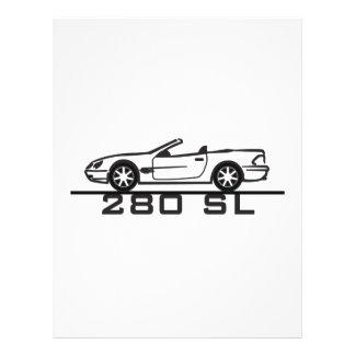 Mercedes 280 SL Type 230 Flyer