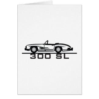 Mercedes 300 SL Cabrio Card