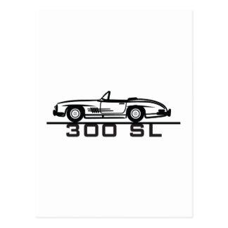 Mercedes 300 SL Cabrio Postcards