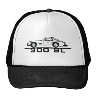 Mercedes 300 SL Gullwing Trucker Hat