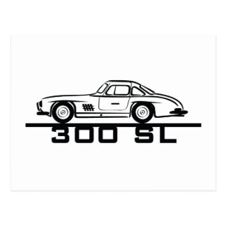 Mercedes 300 SL Gullwing Post Cards