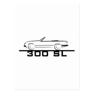 Mercedes 300 SL Type 107 Postcards