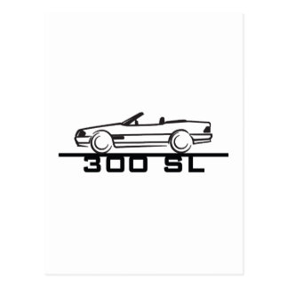 Mercedes 300 SL Type 129 Post Cards
