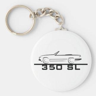 Mercedes 350 SL Type 107 Keychain
