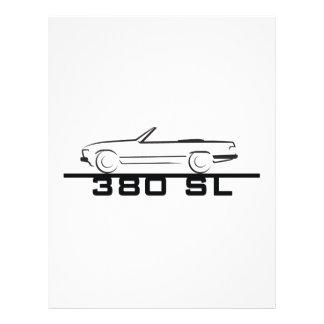 Mercedes 380 SL Type 107 Flyer
