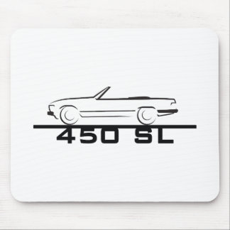 Mercedes 450 SL Type 107 Mouse Pad