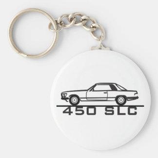 Mercedes 450 SLC 107 Llavero Redondo Tipo Pin