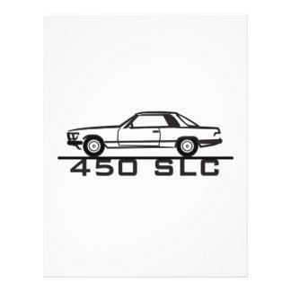Mercedes 450 SLC 107 Membrete