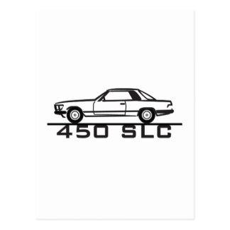 Mercedes 450 SLC 107 Post Cards