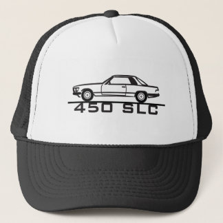 Mercedes 450 SLC 107 Trucker Hat