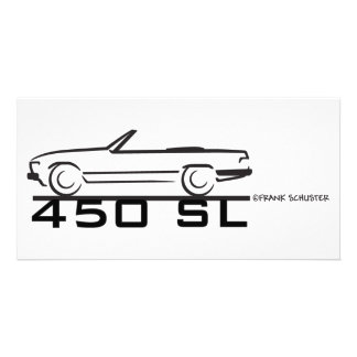 Mercedes 450SL Card
