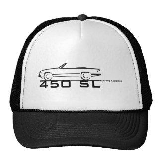 Mercedes 450SL Trucker Hats
