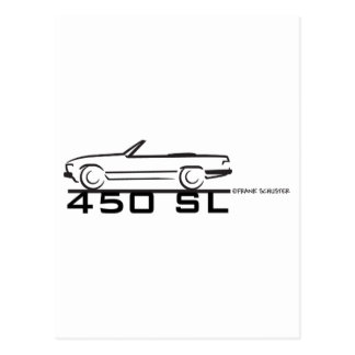 Mercedes 450SL Postcards