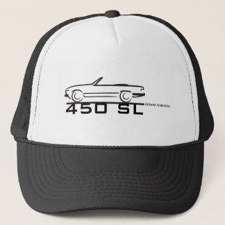 Mercedes 450SL Trucker Hat