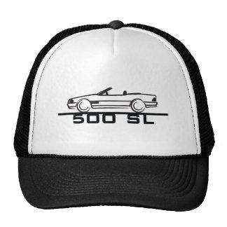 Mercedes 500 SL Type 129 Mesh Hats