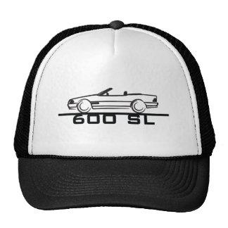 Mercedes 600 SL Type 129 Mesh Hats