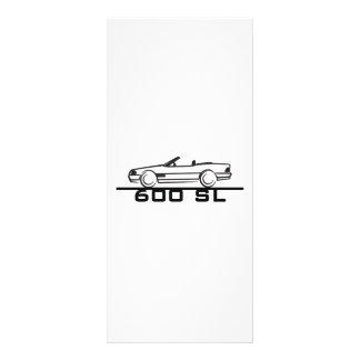 Mercedes 600 SL Type 129 Rack Card