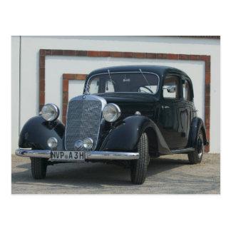 Mercedes antigua 3 postal