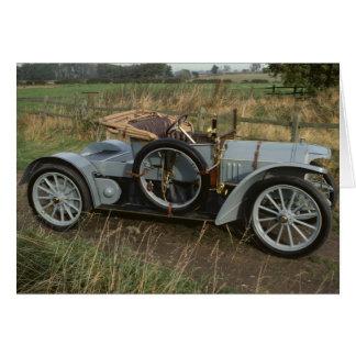 Mercedes Benz 1906 Simplex Card