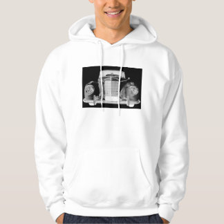Mercedes Benz 300 Luxury Black and White Car Art Hoodie