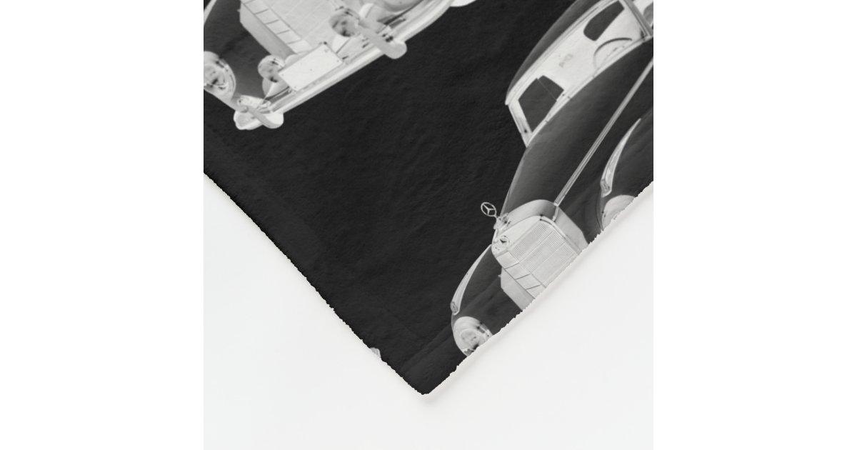 Mercedes benz 300 luxury car art fleece blanket zazzle for Mercedes benz blanket