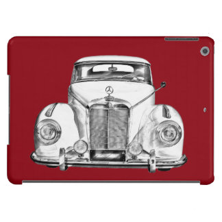 Mercedes Benz 300 Luxury Classic Car Illustration Cover For iPad Air