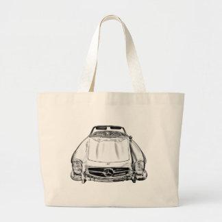 Mercedes Benz 300 SL Convertible Illustration Bag