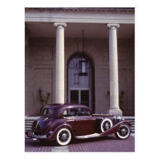Mercedes Benz 540K coupe Postcard