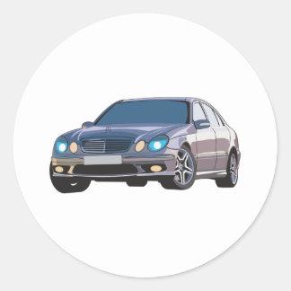 Mercedes Benz Classic Round Sticker