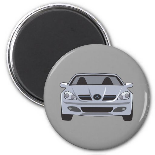 Mercedes Benz Fridge Magnet