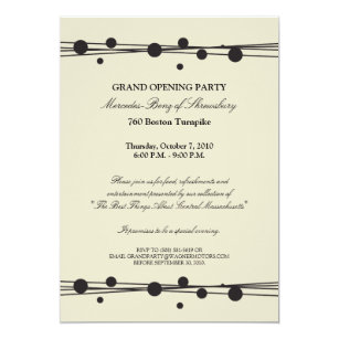 Grand openings invitations zazzle mercedes benz grand opening invitation altavistaventures Image collections