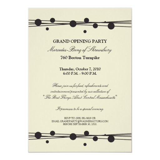Grand Opening Invitations, 1,400+ Grand Opening ...
