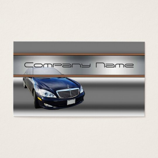 Mercedes benz luxury business cards zazzlecom for Mercedes benz business card