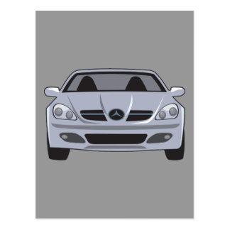 Mercedes Benz Postcard