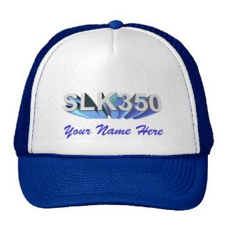 Mercedes Benz SLK350 Cap Trucker Hat