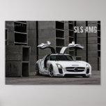 Mercedes-Benz SLS AMG FAB Design Poster